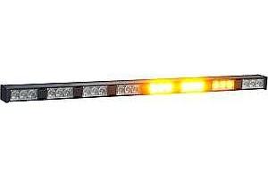 Alej LED, 8-modulová, 12/24V, oranžová